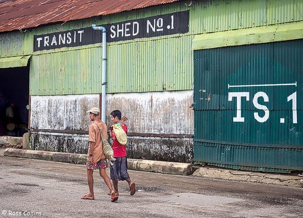 Lan Thit Jetty, Yangon 2015