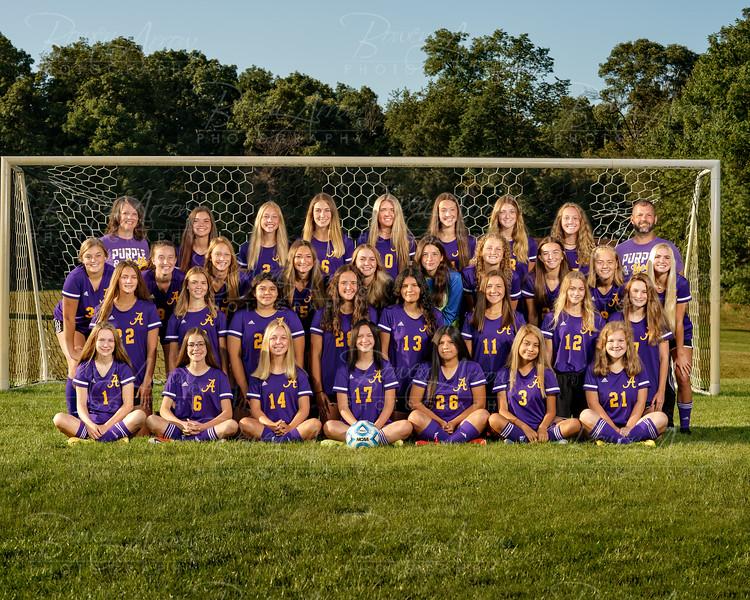 Girl's Soccer Team 2020