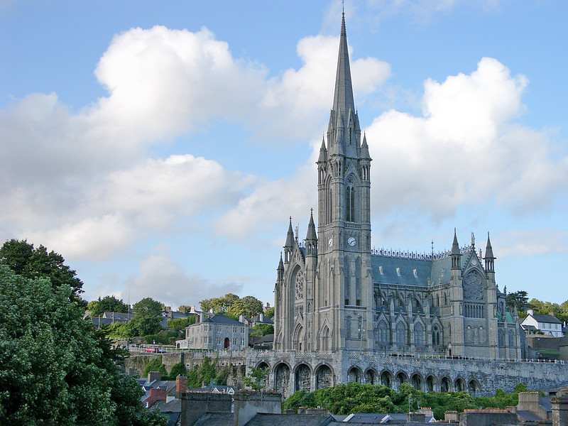 St Colman's Cathedral, Cóbh, County Cork, Eire - July 24, 2004