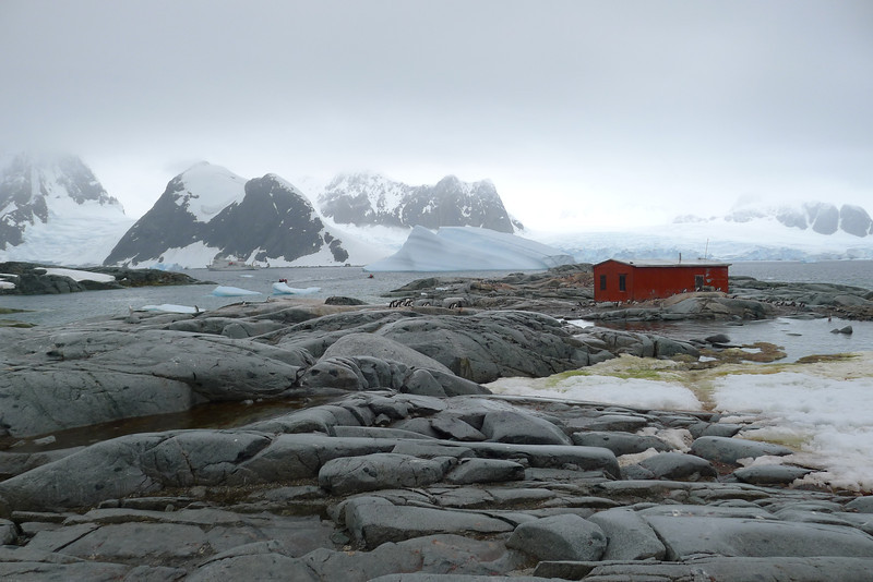 Petermann Island and the Argentine refuge hut