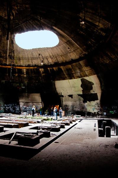 Inside thunder dome
