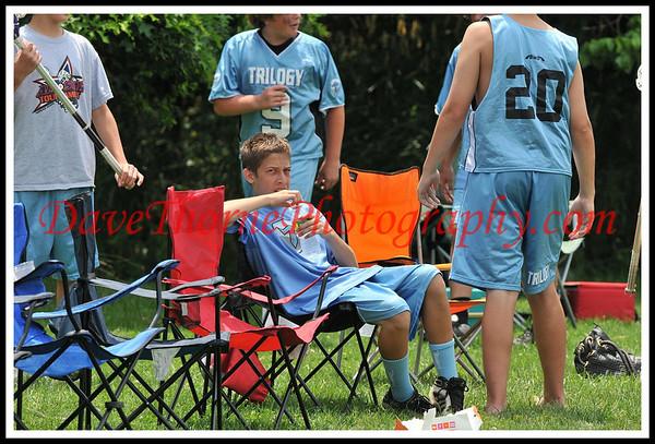 Lacrosse - Trilogy Sweet Laxin  JS  U-15 Blue July, 2009