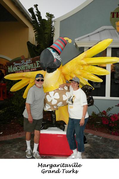 Frank & Cheryl at Margaritaville in Grand Turk