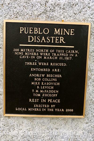 Pueblo Mine Disaster Memorial