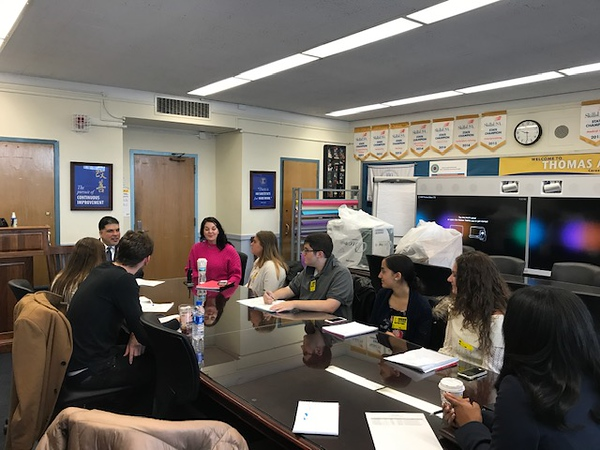 """Explore NYC Schools"" Initiative at Queens High School"