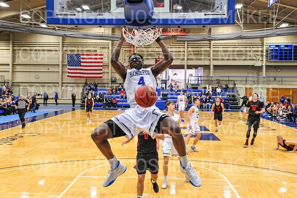 Hamilton Men's Basketball v Wesleyan 2-2-20