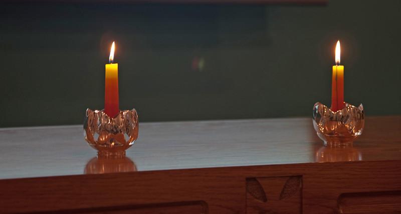 Two Kalomo Candleholders