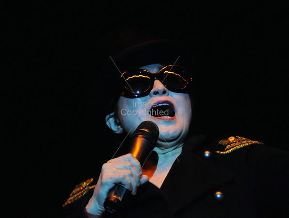 Yoko Ono & Plastic Ono Band, New Years Freakout 5. January 1, 2012. Oklahoma City, Oklahoma.