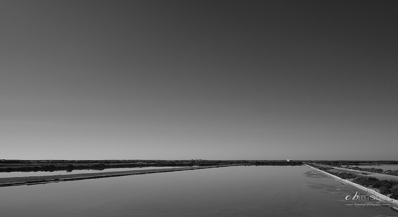 Salt pans on the Ria Formosa