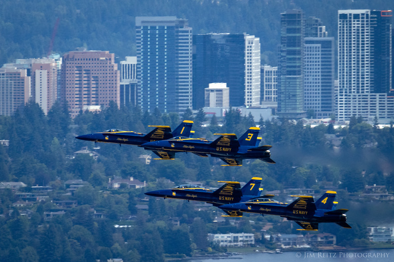 Blue Angels airshow - SeaFair 2018