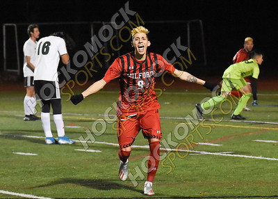 Milford - Dartmouth Boys Soccer 11-6-19