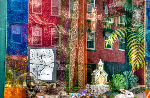 Store Window Reflections