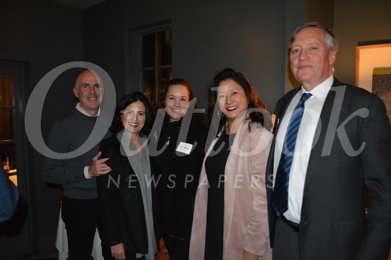 John and Gina Ricci, Carrie Martin, Marilyn Yang and David Sagal