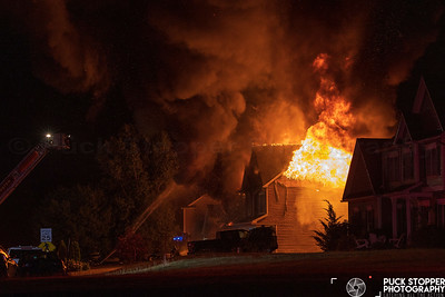 House Fire - 301 Sunningdale Rise, West Webster, NY - 7/2/21