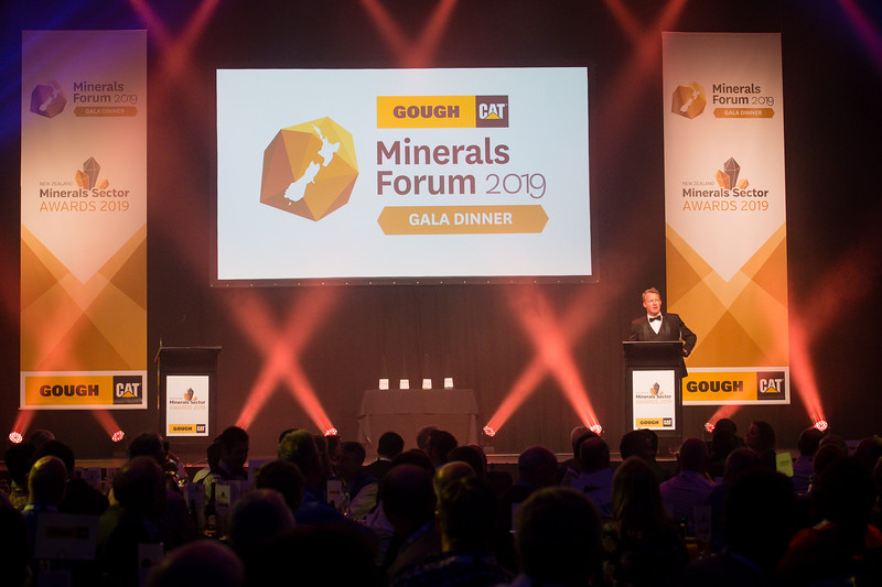 NZ Minerals Forum Gala Dinner