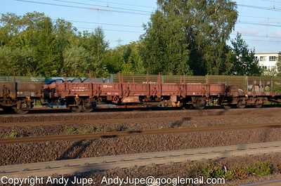 K Coded (54) (Ordinary flat wagon with separate axles)
