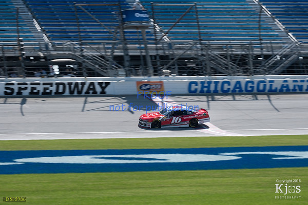 NASCAR 2018 Chicagoland Friday