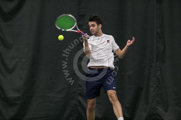 Wheaton College 2019 Men's Tennis action photos