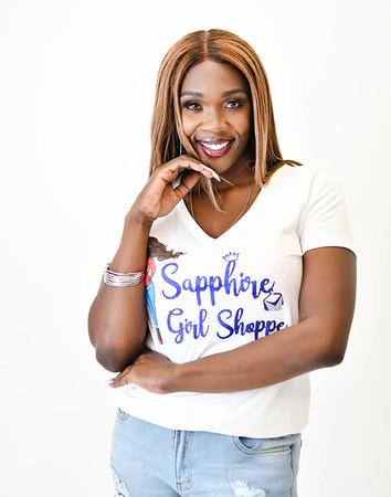 Sapphire Boutique Print