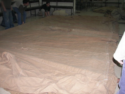 Tent Preparation