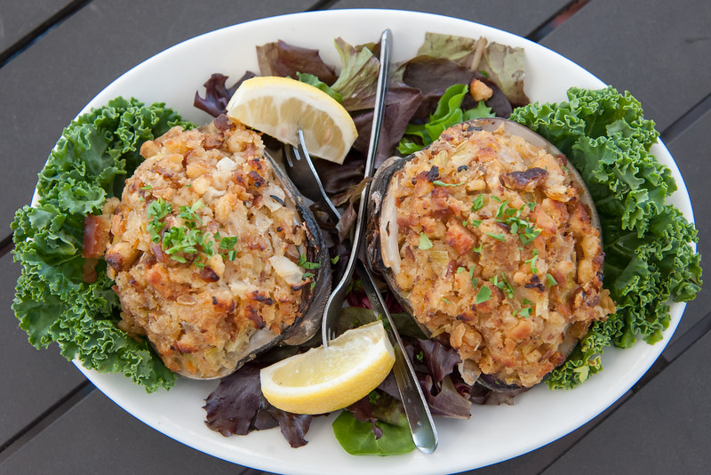 05/30/18  Wesley Bunnell   Staff  An order of stuffed clams which will be featured on the menu at The Clam Box which is set to be the newest addition to East Side Restaurant.