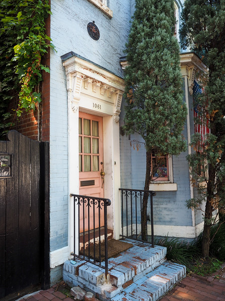 Georgetown door in Washington, DC