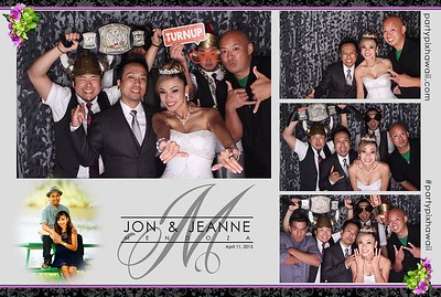 Jon and Jeanne's Wedding (LED Open Air Photo Booth)