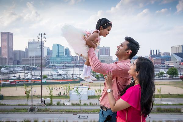 Aishwarya Viswas Family