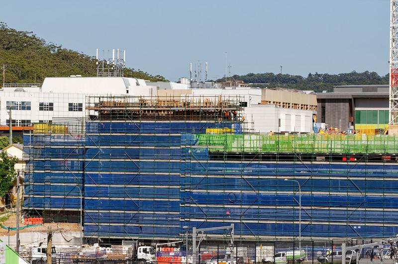 Gosford Hospital building progress  October 30, 2018.   (h62ed)