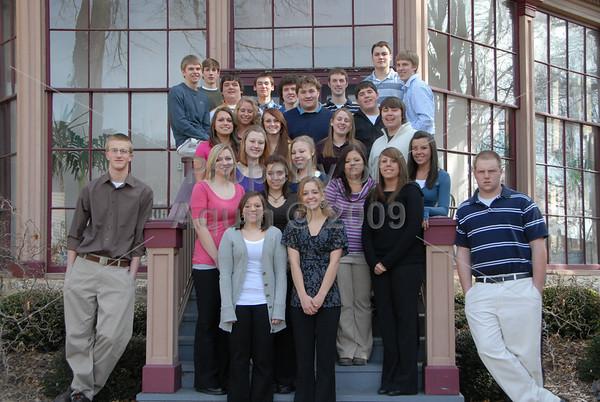 senior class picture . 3.11.09