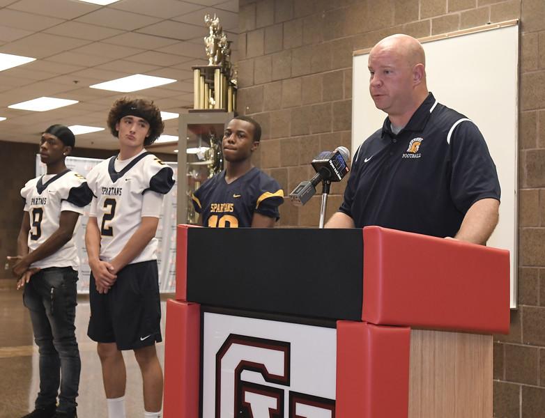 MAC Football Media Day at Chippewa Valley High School on July 24, 2018. MACOMB DAILY PHOTO GALLERY BY DAVID DALTON