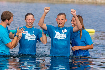 2018 Outdoor Baptism
