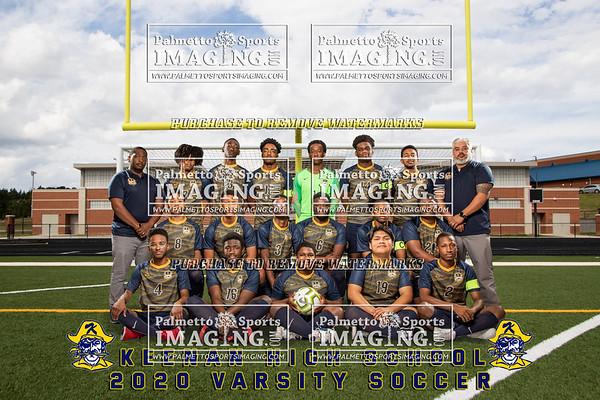 2020 W.J.Keenan Boys Soccer Team and Individuals