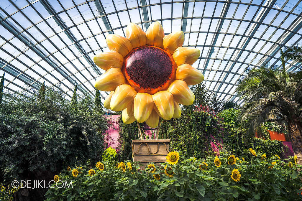 Gardens by the Bay – Sunflower Surprise / Sunflower Escape Hot Air Balloon