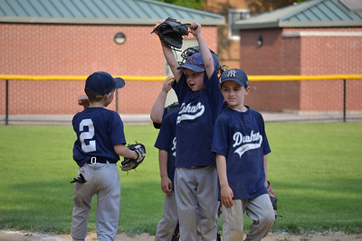 Dunham Park Rookie Yankees Baseball 2011