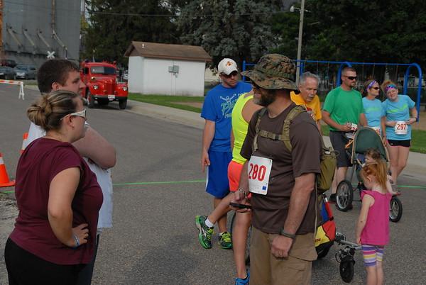 Shellsburg Backdraft 5K run
