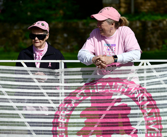 5/11/2019 Mike Orazzi | Staff Anne Clark and her daughter Kathy Clark during 16th annual Race in The Park held Saturday in New Britain.