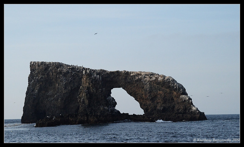 Natural Arch, Anacapa Island, Channel Islands, November 2008