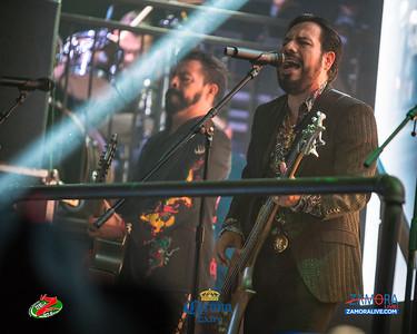 Los Inquietos Del Norte - Blaze Nightclub / Noviembre 24