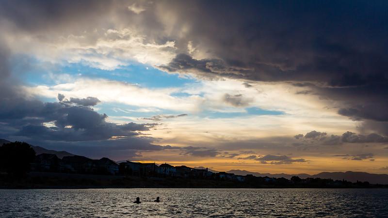 Utah Lake Sunset - June 2021
