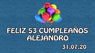 Cumpleaños Alejandro