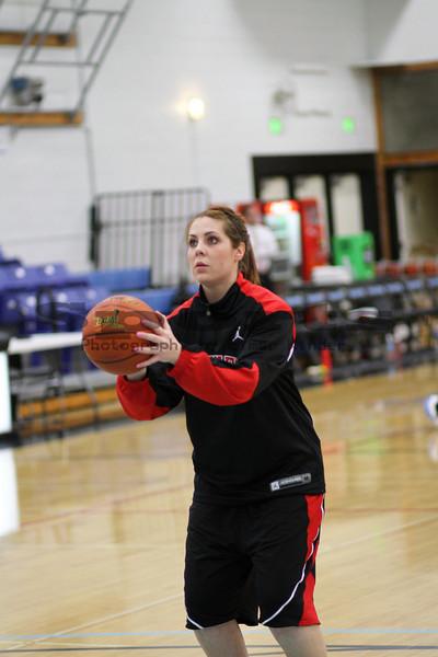 Southern Oregon University Womens Basketball vs Warner Pacific 02/23/2010