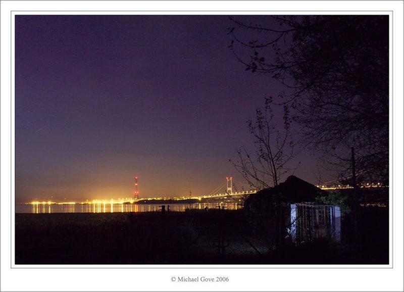Severn crossing over river Avon at night (69669737).jpg