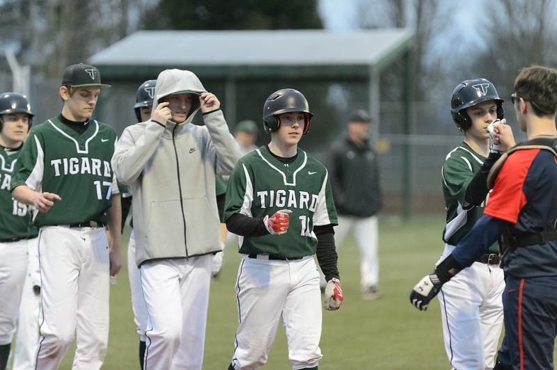 Tigard HS Varsity Baseball vs Westview