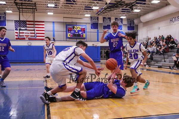 2019-1-29 Salem Boys Basketball vs Winnacunnet