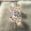 2.88ctw Old European Cut Diamond Pair, GIA I/VVS2 &  GIA H VS1 2