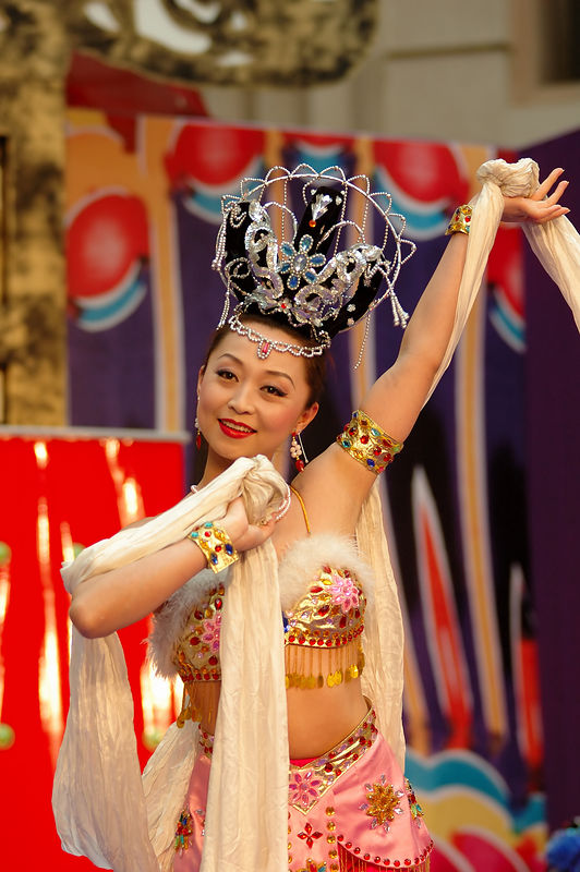 Xi Ann Dance Troop @ RafflesCity II 2006