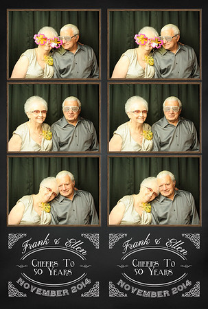 Frank and Ellen's 50th