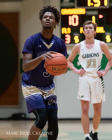 Broughton boys varsity basketball vs Cardinal Gibbons. January 11, 2019. 750_2474