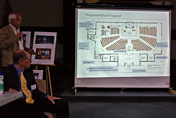 July 23, 2014 - Church Remodel, 1st Meeting